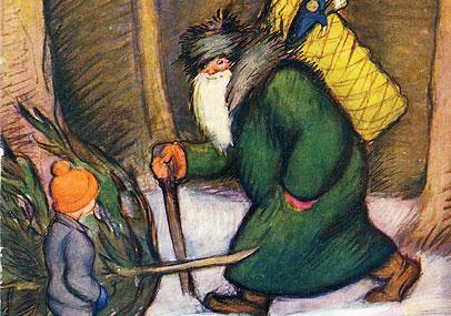 Rudolf Koivu Joulukortit